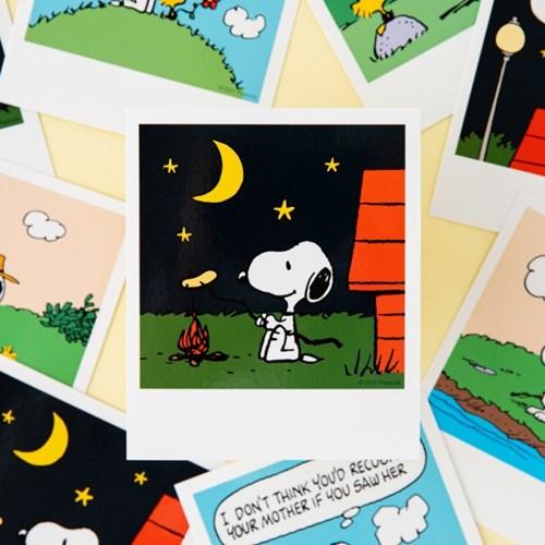 [Peanuts] 폴라로이드 엽서_스누피 (6종)