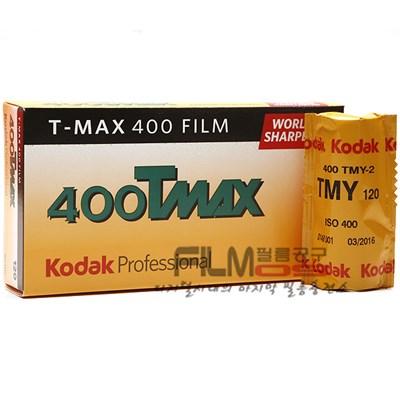코닥 흑백필름 티맥스 400 120 중형 (1롤) KODAK T-MAX 400