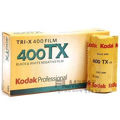 코닥 흑백필름 트라이엑스 400 120 중형 (1롤) KODAK TRI-X 400