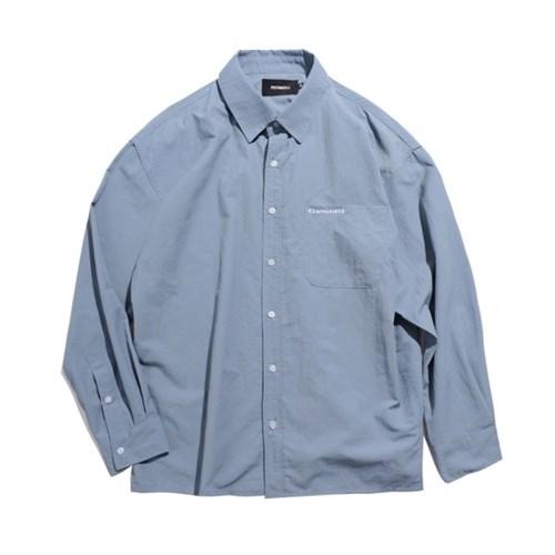 [EZwithPIECE] NYLON OV SHIRTS (BLUE)_(401264805)