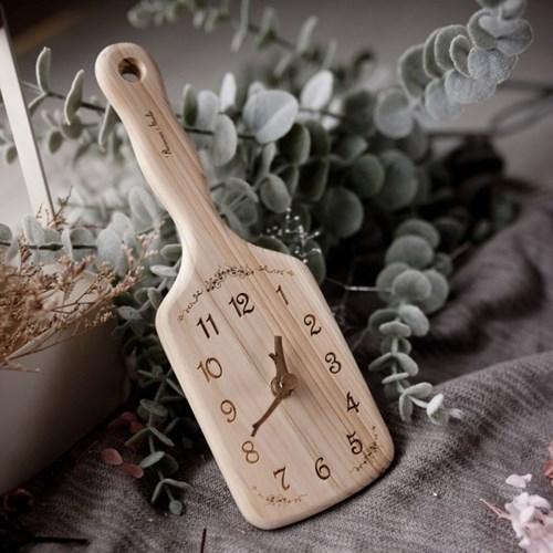 [바나나]바나나공방 편백 히노끼 주방인테리어 시계 메티스