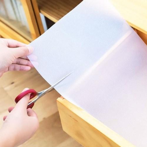 주방 논슬립 서랍매트 투명 싱크대깔개