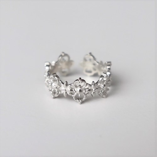 [Silver925] Lace cover knuckle ring_(1557301)