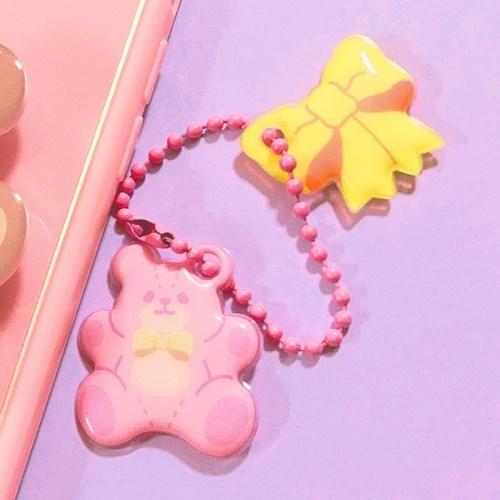 Fluffy Bear 폭신 키링