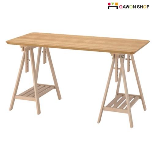 이케아 ANFALLARE/MITTBACK 테이블/각도조절기능/책상/다용도/식탁