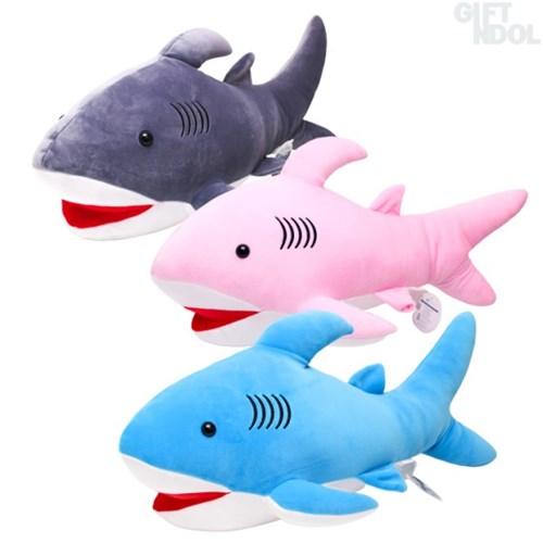정품 대형 상어 모찌 봉제인형 60cm