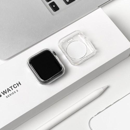 애플워치 투명 실리콘 케이스