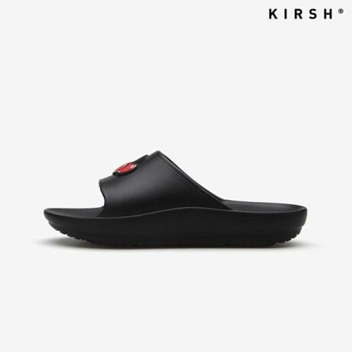 [키르시] KIRSH SLIPER 슬리퍼 슬라이드 블랙 검정 (KIR02_BLACK)