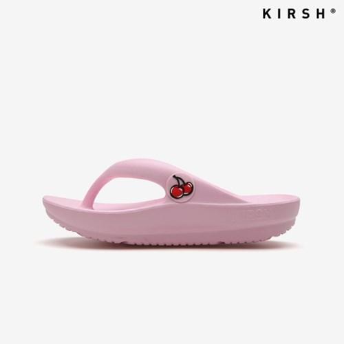 [키르시] KIRSH 핑크 체리 플립플랍 쪼리 슬리퍼 (KIR01_PINK)
