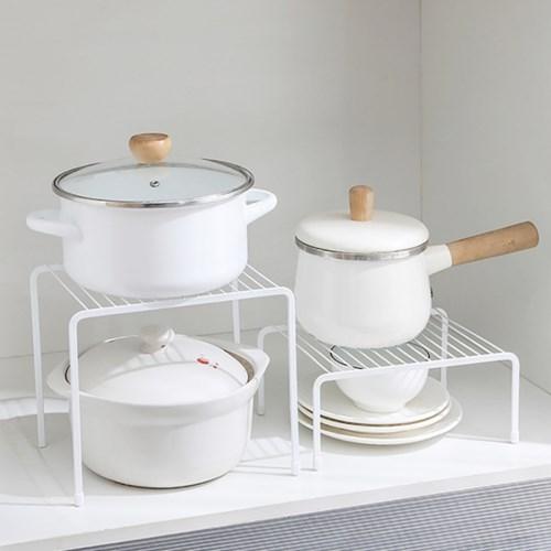 구름다리 싱크대 하부장정리 주방선반 접시 그릇 정리대