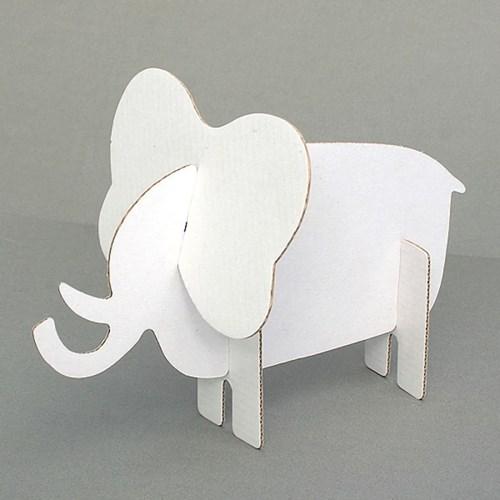 종이동물 조립퍼즐 코끼리
