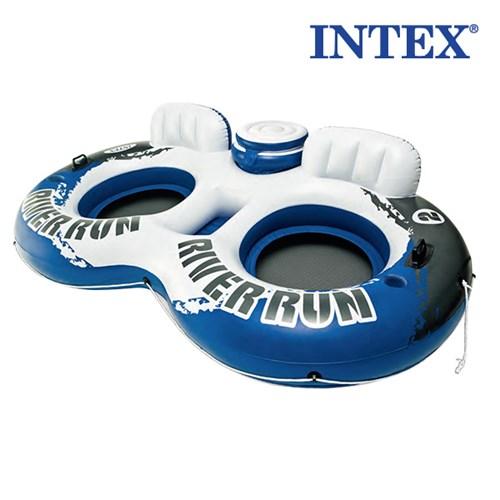 [INTEX]L2437JY 리버런 트윈 튜브 2인용_(1504046)