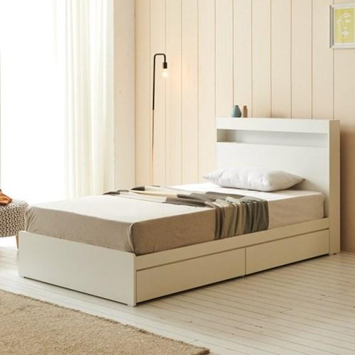 에프리 서랍수납 침대 슈퍼싱글+독립 매트리스