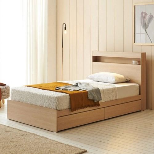 에프리 서랍수납 침대 슈퍼싱글 침대프레임만