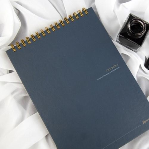 Impression Note_Blank 하드커버 (딥펜/만년필/드로잉용)