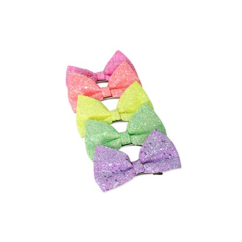 [마미버드] 글리터 네온 리본핀 (5color)