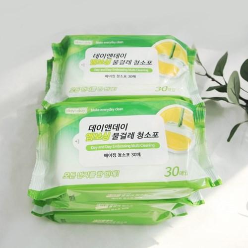 VNB 일회용 물걸레 청소포 6팩 (180매)