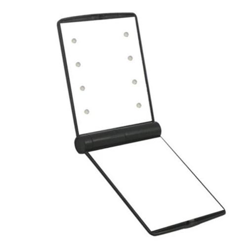 LED 화장 손거울 [휴대용 미니 메이크업 조명 작은 거울]