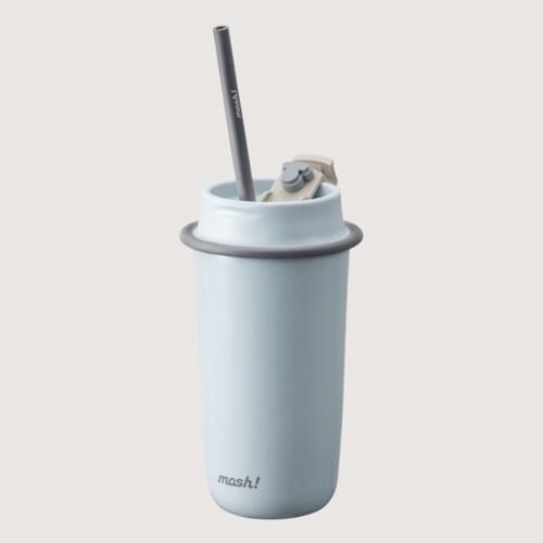 [MOSH] 모슈 라떼 스트로우 텀블러 480ml 스카이