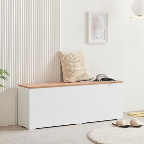 [에띠안]리즈 일반형 1200 수납벤치 현관벤치 벤치의자 6색상