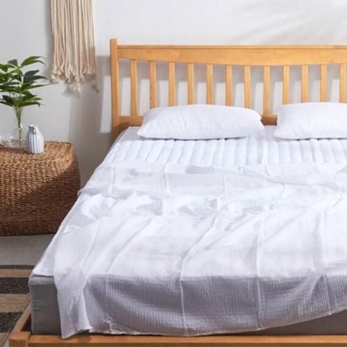 냉감패드 여름용 침대 인견 시어커서 패드 시원한 냉감 토퍼
