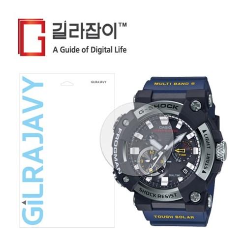 지샥 GWF-A1000 라이트온 저반사 액정보호필름 2매