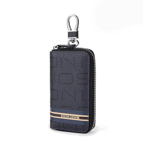 바이슨데님 수제 지퍼 멀티 키 자동차키 열쇠지갑 N9706-1B