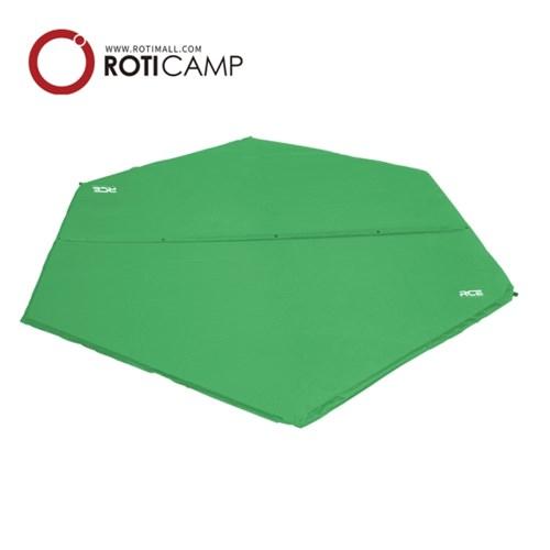로티캠프 자충 육각 에어 매트 감성 캠핑 텐트 바닥 피크닉 돗자리