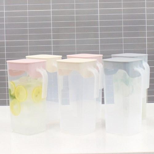 프레쉬 가정용 냉장고 보관 물병 물통 2L 6개