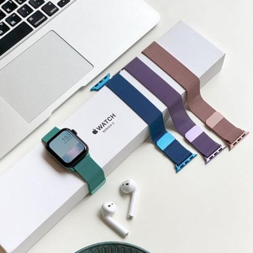 애플워치 마그넷 자석 컬러 스트랩 4color
