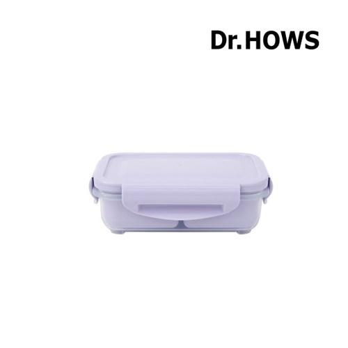 [닥터하우스] 본 2칸 나눔 밀폐용기 310ml