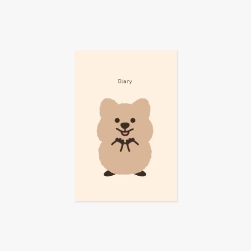 [월간젤리크루]영이의숲_다이어리