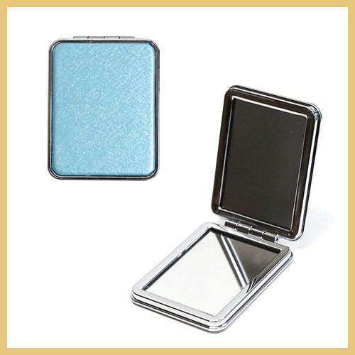 직사각 손거울(소) 휴대용 접이식손거울 확대경기능 듀얼 양면손거울