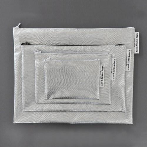 waterproof kill silver pouch