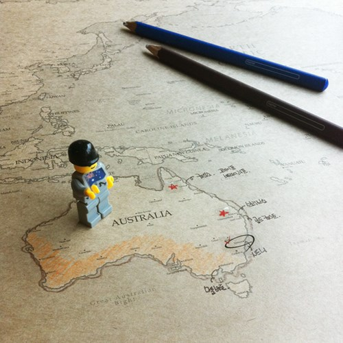WORLD MAP (ver.KRAFT)