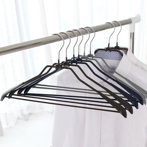 논슬립 코팅 정장(기본)옷걸이 10P