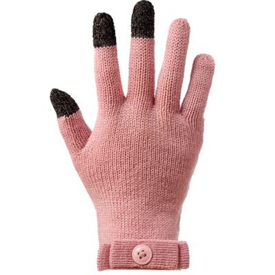 스마트폰 장갑 스칼렛 예쁜 핑크색 여성용 니트 장갑