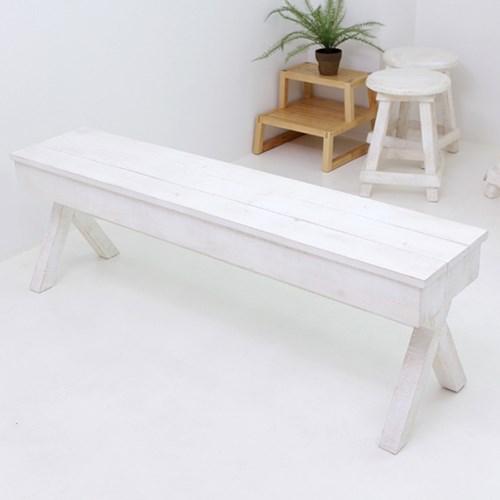 뉴질랜드통소나무수납벤치(white)