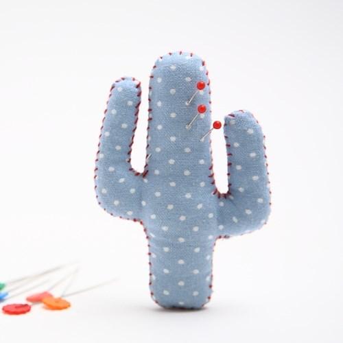 [DIY패턴] (패턴) 핀쿠션만들기-선인장핀쿠션