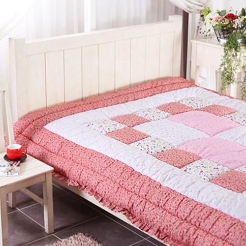 플레리 핑크 침대 이불 ( 200 X 230 )