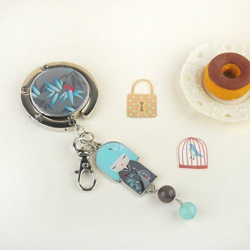 [키미돌] 가방걸이 - 평화로움의 NAGISA (KF0506) 나기사 가방걸이