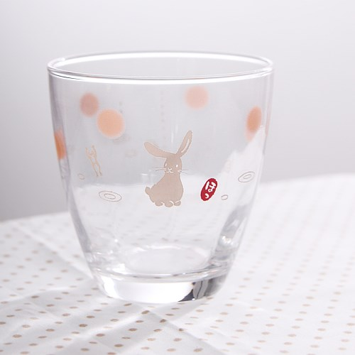 토끼 유리잔 3P (B-0550)