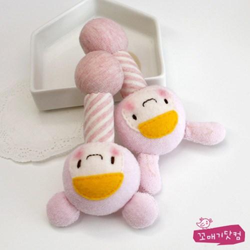 [DIY]핑크 베이비 스틱 딸랑이 만들기 패키지