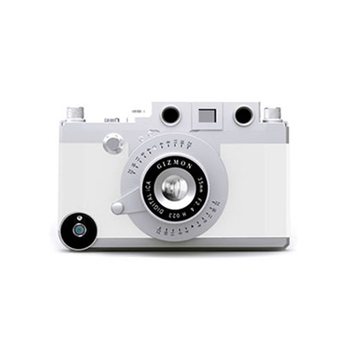 GIZMON iCA 기즈몬 아이폰 4-4S 카메라 케이스-화이트