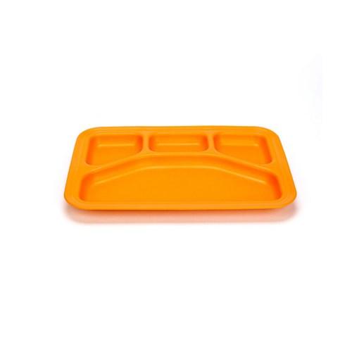 [그린이츠] 식판1P(오렌지) TRYO-1541