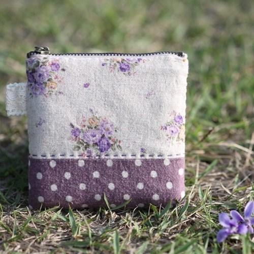 제비꽃-동전지갑만들기