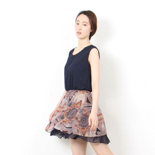 double sleeveless dress