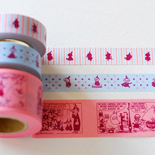 무민 마스킹 테이프 3p set - 3color