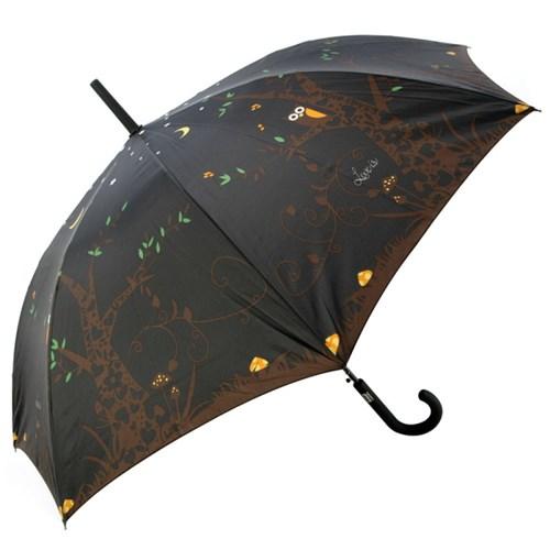 [VOGUE] 보그 일반형 자동장우산(양산겸용) - 밤에부엉이