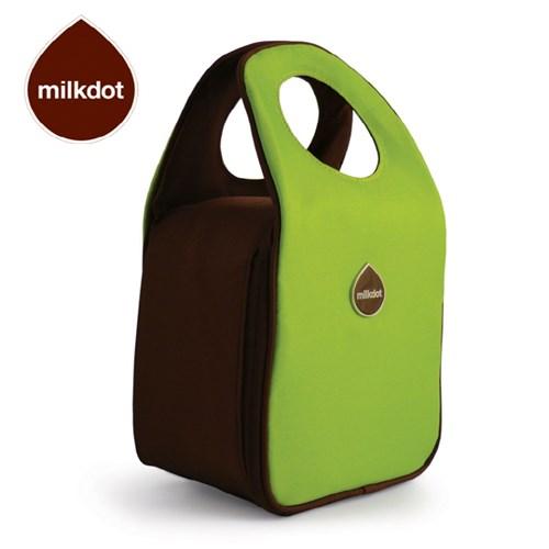 [milkdot]밀크닷 런치토트/컬러풀 다용도 보온보냉 가방/라임